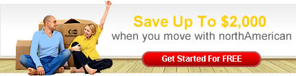 Save $2000 when you move with NorthAmerican